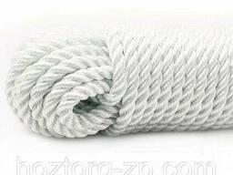 Верёвка лавсановая д.6 мм якорная, лодочная