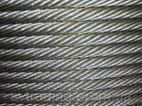 Канат стальной оцинкованный ф4,0мм, ГОСТ - фото 1