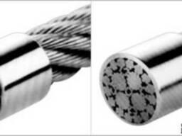 Канат стальной IS0 2408 ф 4,0-12,0 мм