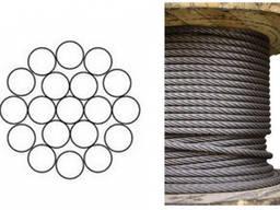 Канат стальной оц. 1,3 ГОСТ 3063-80