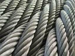 Канат стальной оцинков 16,0 ГОСТ 7669-80 отмотка