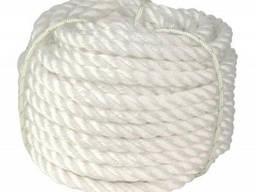 Канат полипропиленовый тросовой свивки ф8 - 20мм