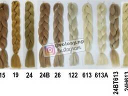 Канекалон Зелёная сосна (Pine Green) Цвет косы: омбре и. ..