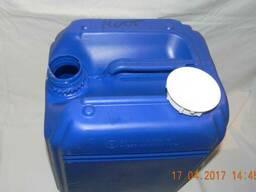 Канистра пластиковая 20 литров синяя