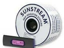 Капельная лента Sunstream 6mil 20см (Турция) эмитторная 1.6л/ч-1000м