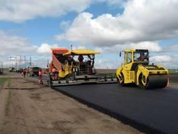 Строительство асфальтирование автомобильных дорог