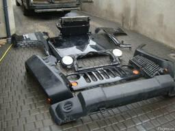 Капот Бампер Фары Крыло Запчасти Jeep Wrangler JK 07-11