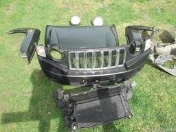 Капот бампер крыло фары Jeep Compass 06-14 б/у