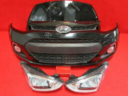 Капот бампер крыло фары правая левая Hyundai i10 2007-2014