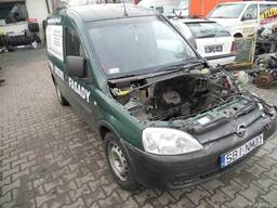 Капот бампер крыло фары правая левая Opel Combo C 01-11 б\у