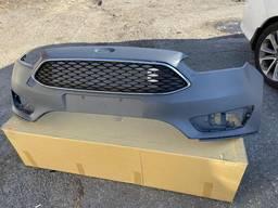 Решетка радиатора решетка нижняя бампера Ford Focus 2015 зап