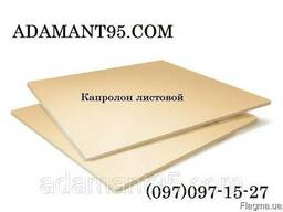 Капролон (полиамид 6), лист, 40*1000*1000 мм (Россия).
