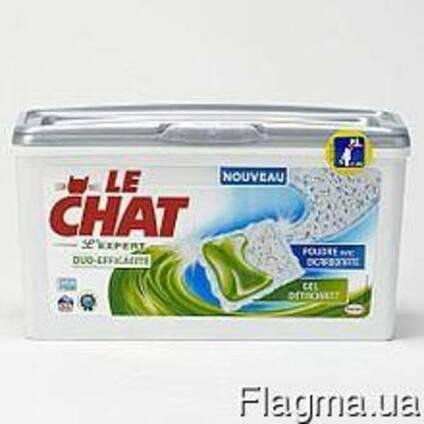 Капсулы для стирки Le Chat Expert 30 шт (универсальные) Фран