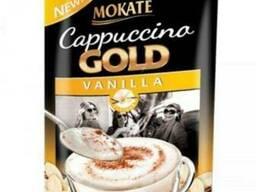 Капучино Mokate Gold, ваниль, 100 г