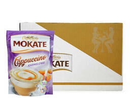 Капучино Mokate Сaffetteria Cappuccino Caramel, 110г*10 уп.