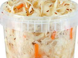 Капуста квашена, морква по-корейськи