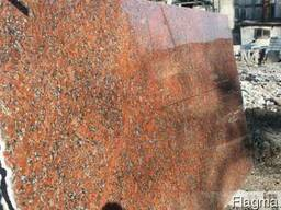 Гранитная плита Rosso Santiago 60х30 см 20 мм