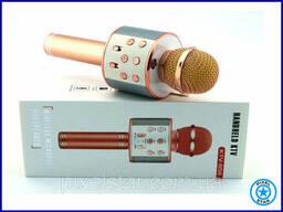 Караоке блютуз Микрофон W 858-1