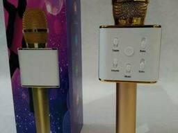 Караоке Микрофон Q7 Gold