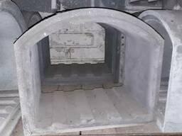 Карбид кремниевый муфель для промышленных печей