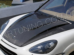 Карбоновый капот Porsche Cayenne 958 2010 2011 2012 2013.