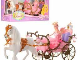 Карета 207A с лошадью, с куклой (207A)