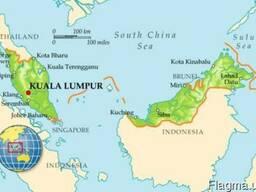 Доставка товаров из Малайзии в Украину под ключ