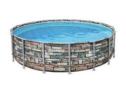 Каркасный бассейн Bestway с карт фильтром, тент, лесница
