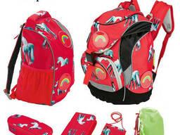 Каркасный школьный рюкзак 5 в 1 (набор - рюкзак. ..