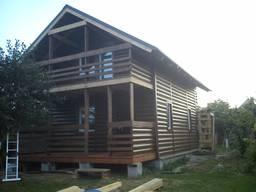 Каркасные (деревянные) дома