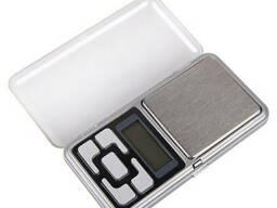 Карманные ювелирные электронные высокоточные весы Спартак 0,01-200 гр + батарейки (0385)