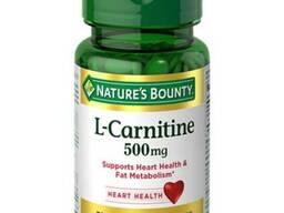 Карнитин Nature'S Bounty L-Carnitine 500 мг - 30 caplet.
