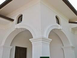 Карнизы из пенопласта, фасадный декор