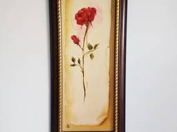 Картина маслом «Троянда»