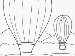 """Картина по номерам. Art Craft """"Воздушные шары"""" 25х30 см (15512-AC)"""
