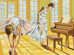 "Картина по номерам. Brushme ""Балерины на разминке"" (GX8517)"