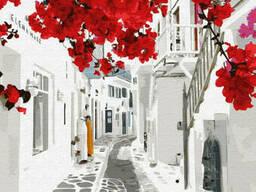 "Картина по номерам. Brushme ""Цветущая Греция"" GX32313"