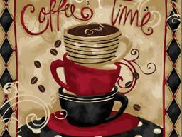 """Картина по номерам. Идейка Натюрморт """"Время кофе"""" 40 *. .."""