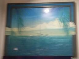 Картина Яхта 73*90 см