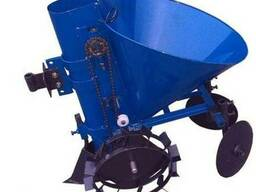 Картофелесажатель мотоблочный К-1Ц (синий) ДТЗ