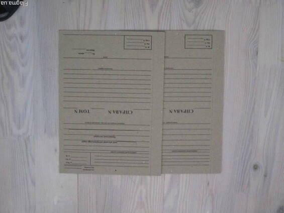 Картон переплётный для архивирования