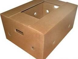 Картонный ящик для черешни.. Лоток для черешни.