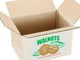 Картонный ящик под орех