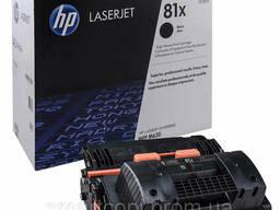 Картридж HP СF281X первоход (оригинал) virgin