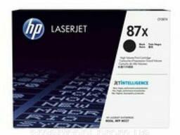 Картридж HP СF287X первоход (оригинал) virgin