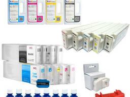 Чернила для плоттеров Epson и HP (ультрахром и пигмент)
