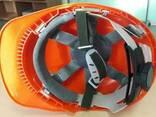 Каска защитная Импортная оранжевая - фото 4