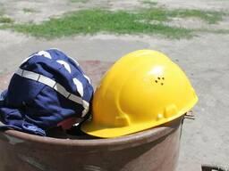 Каска защитная строительная с подшлемником