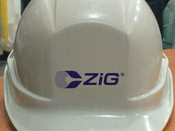"Каска ""Зиг"" для строителей белая"