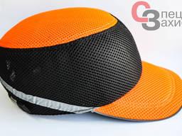 Каскетка-кепка робоча чорно-помаранчева Delta plus